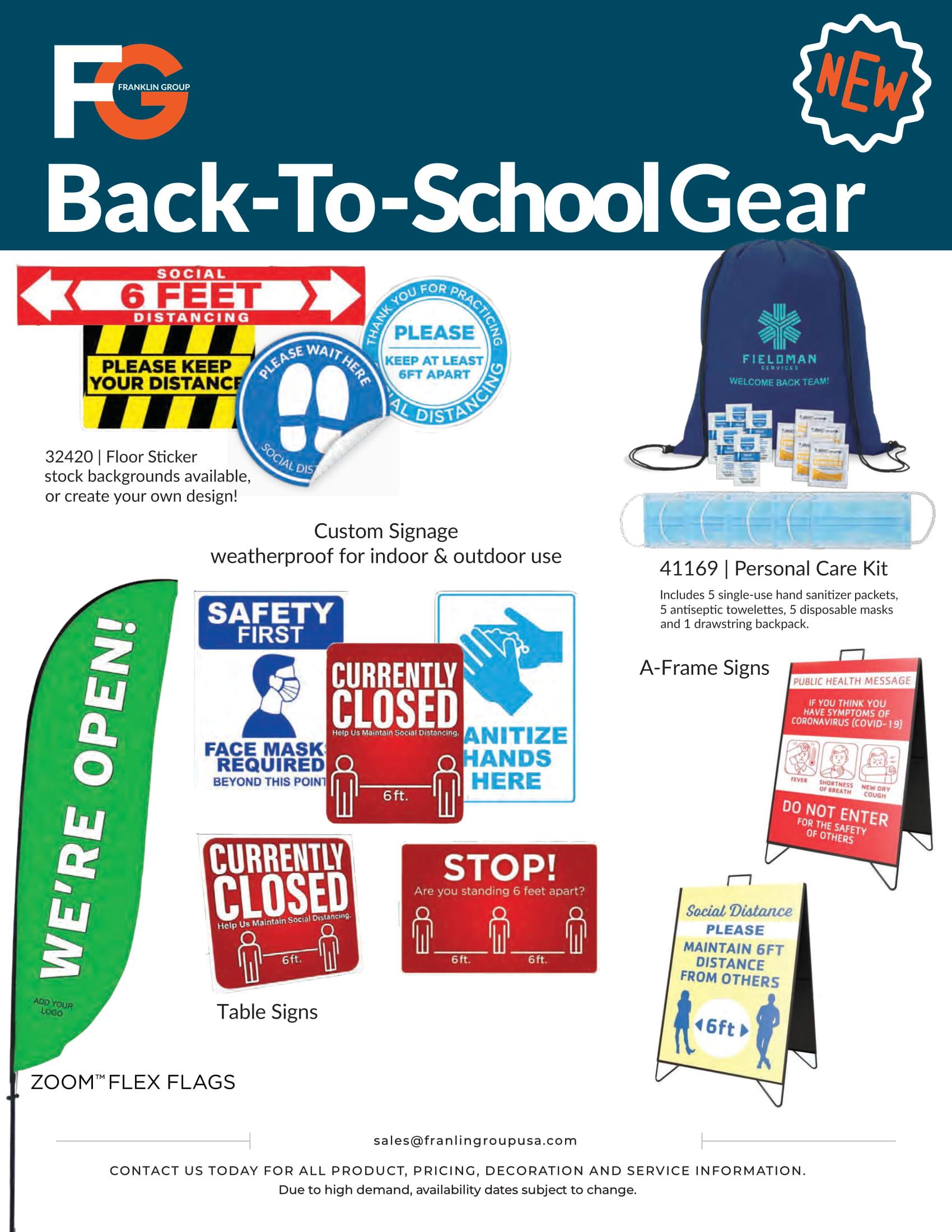 Back to School Gear
