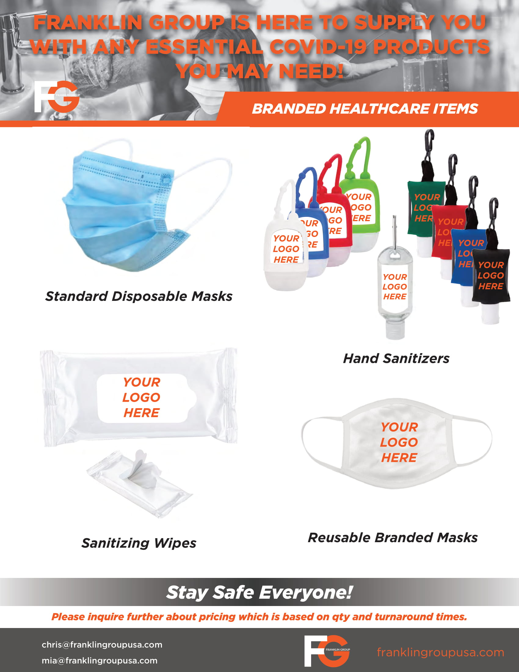 Branded Healthcare Items