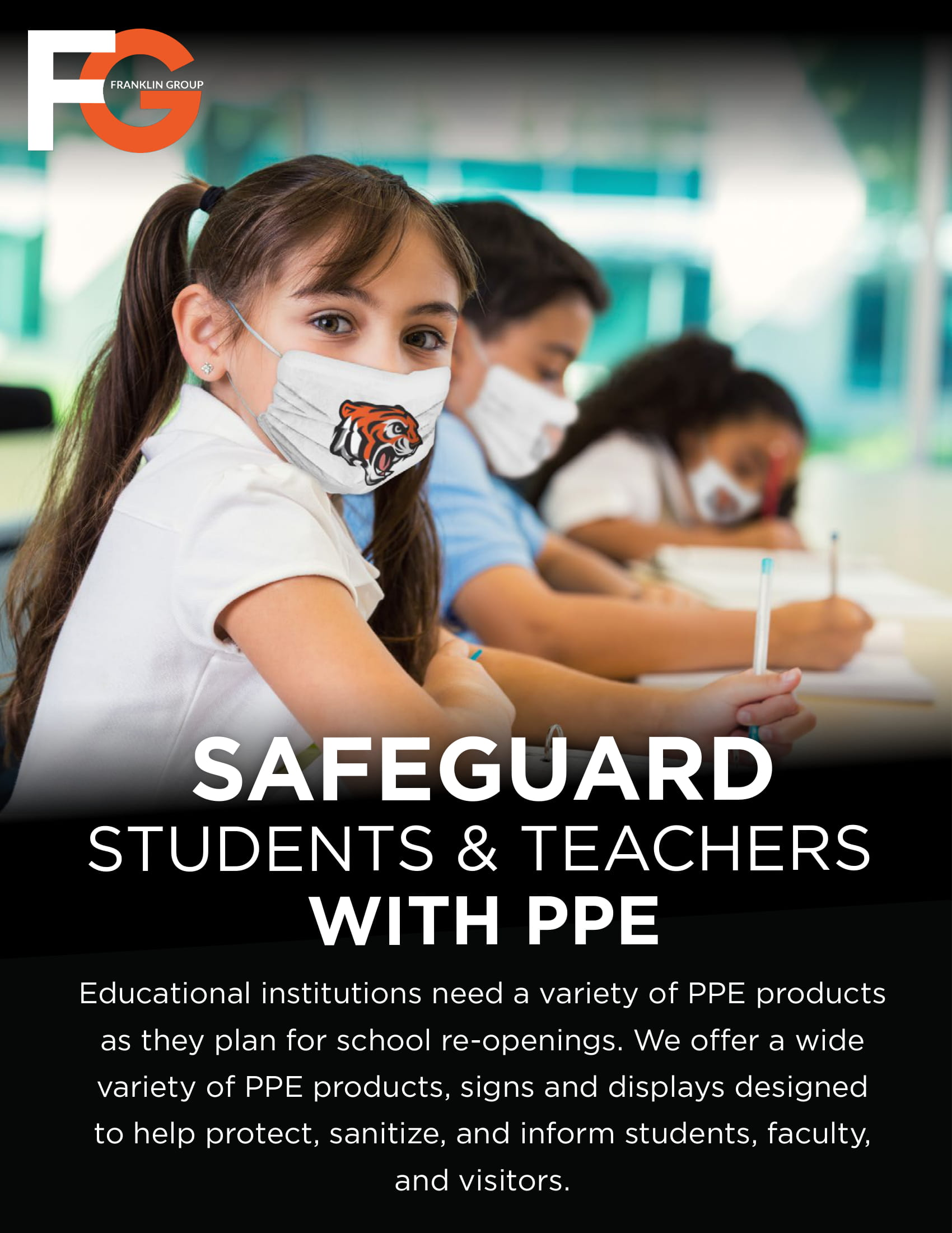 Safeguard Schools with PPE