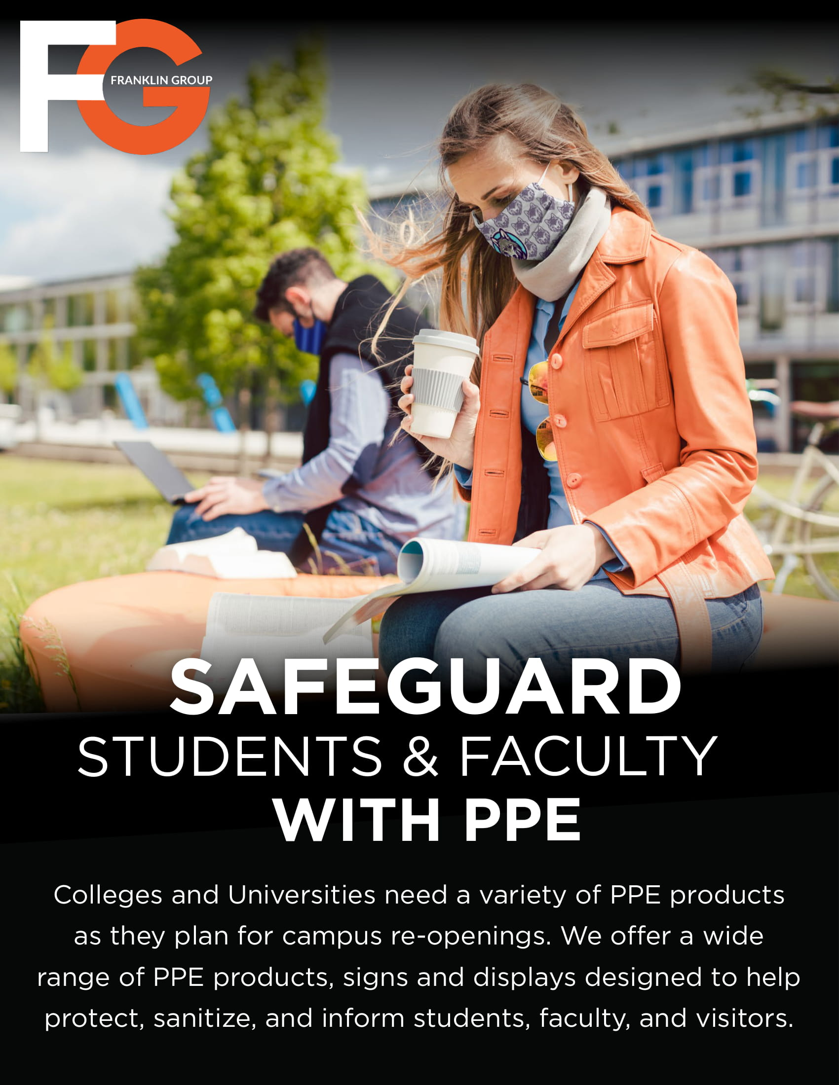 Safeguard College, Universities and Faculty with PPE