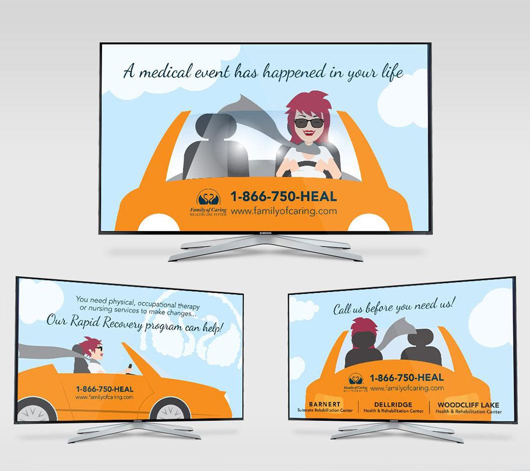 Healthcare Ad Slides